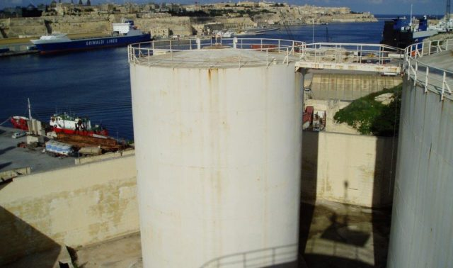 Dismantling of Fuel Tanks from Corradino Enemalta Depot