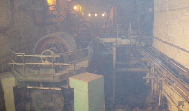Underground Works in A Station Marsa Power Station